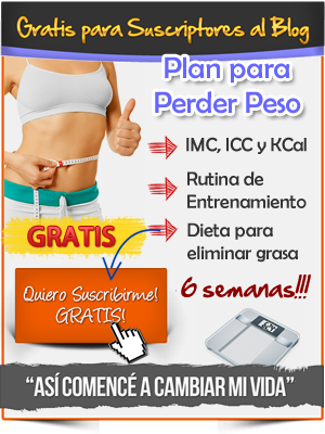 Plan para Perder Peso 6 semanas gratis